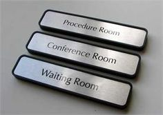 Custom waiting room signs or procedure room signage used by hospitals, doctors and government agencies - or professional office environments such as dentists, lawyers and spas in need of unique office signs and office door signs. Office Door Signs, Office Signage, Medical Posters, Medical Humor, Medical Icon, Medical Spa, Office Sign Company, Medical Office Decor, Vet Office