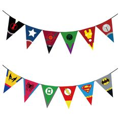 Avengers Banners Baby Shower Birthday Party Decorations Kids Event & Party Supplies Birthday Party Decorations Kids