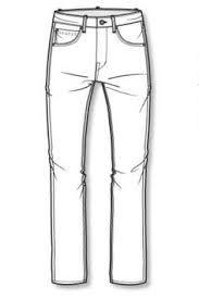 Resultado de imagem para wgsn denim jeans flat drawing