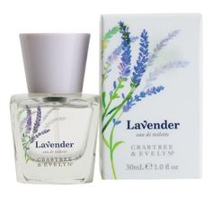 Crabtree & Evelyn Lavender - Eau De Toilette by Crabtree & Evelyn. $34.00. Lavander Eau de Toilette 100ml from Crabtree&Evelyn. The uplifting fragrance of lavender calls to mind gentle breezes rolling over lush fields on an idyllic summer day. Our eau de toilette features fresh lavender bloom enhanced with violet leaf, jasmine, exotic tonka bean, soft musk, and a touch of lemon.