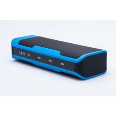 Portable Bluetooth Speaker - 4000mAh Power Bank, FM Radio, Support Hands-free, Micro SD Card Port, Touch Control