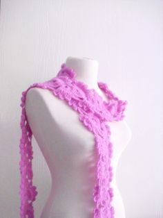 SCARF SCARVES  shawl gift mew season by CrochetChi on Etsy