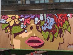 #MotherNature #Mural #Graffitti #BrickLane #London #UK