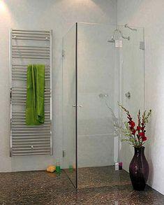 bndige eck duschkabine 2 tren klarglas chrom combia - Dusche Glastur Nach Mas 2