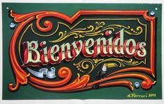tipografia fileteado porteño - Buscar con Google