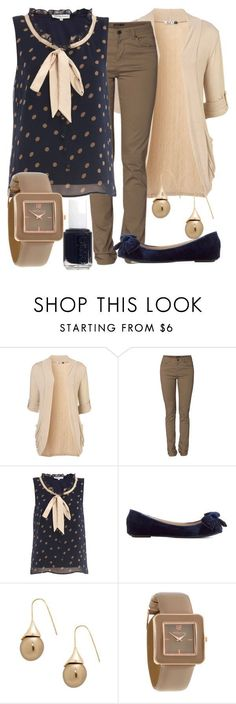 """""""Teacher Outfits on a Teacher's Budget 50"""" by allij28 ❤ liked on Polyvore featuring WalG, Vero Moda, Sugar Reef, Betty Jackson, Red Herring, Essie, women's clothing, women, female and woman"""