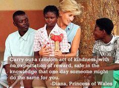 Diana. A heart bigger than any monarchy.