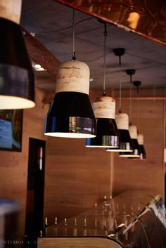 Studio A Signature Projects / Johannesburg, South Africa. Rockets, Restaurant Design, South Africa, Ceiling Lights, Studio, Lighting, Projects, Home Decor, Fire Crackers