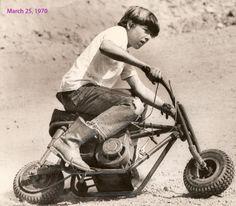 The vintage Mini Bike