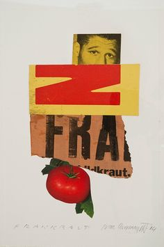 """""""#FontSunday The cut and paste collages of Ivan Chermayeff. #recycled @DesignMuseum"""""""