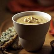 Crème de poires et châtaignes au paprika - une recette Soupe - Cuisine