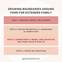 """Easymommylife on Instagram: """"Drawing Boundaries Around Food For Extended Family One of the common concern parents raise is about grandparents and relatives offering…"""" Healthy Toddler Meals, Extended Family, Family First, Kids Health, Grandparents, Positivity, Drawings, Instagram, Food"""