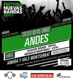 Circuito Nuevas Bandas Los Andes http://crestametalica.com/evento/circuito-nuevas-bandas-los-andes/ vía @crestametalica