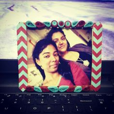 Quilling photoframes