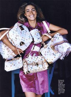 Brighten Up in Elle France with Lisa Seiffert - - Fashion Editorial Louis Vuitton Murakami, Luxury Lifestyle Fashion, 2000s Fashion, Vintage Louis Vuitton, Cute Bags, Vintage Handbags, Luxury Bags, Louis Vuitton Handbags, Editorial Fashion