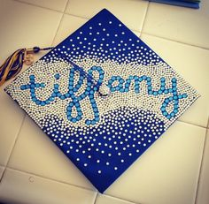 Graduation cap decoration Hey look I found one with my name