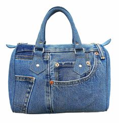 BDJ Classic Blue Denim Jean Doctor Style Women Handbag (LL-04): Handbags: Amazon.com