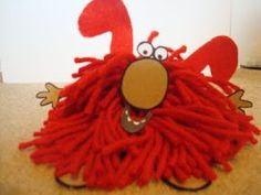 Cute blog post showing how to make Rhyming Dust Bunnies for storytime!