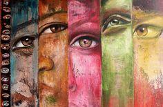 Antigua Artist, Naydene Gonnella, Fragmented Series Paintings and Portraits Art Assignments, Ap Studio Art, A Level Art, Gcse Art, Ap Art, Art Themes, Art Portfolio, Types Of Art, Collage