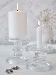 Pinterest images for Clear Glass Candle Holders #nordic #house #scandi #home# #interior #desgin #decor #glass #candleholder