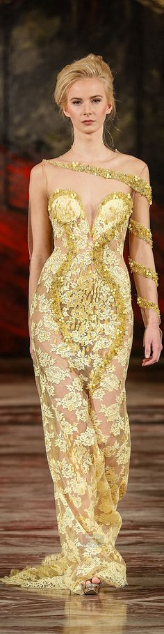 Toufic Hatab Couture Collection Spring-summer 2015