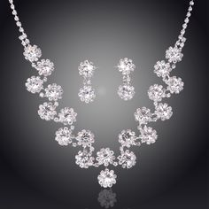 Cheap wedding jewelry sets, Buy Quality fashion jewelry set directly from China jewelry sets Suppliers: DAZZLING YANG'S Unique Beautiful Silver Plated Austrian Crystal Wedding Jewelry Sets For Brides Fashion Jewelry Accessory Jewelry Tools, Jewelry Supplies, Jewelry Rings, Jewelry Making, China Jewelry, Silver Jewelry, Ring Earrings, Diamond Earrings, Fashion Rings