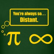 Pi and infinity - always so distant