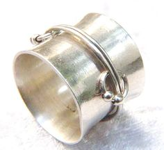 Free shipping 925 silver sterling ring  Hand-made by MaliKedem