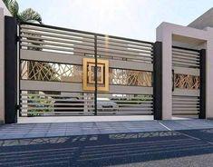 Home Gate Design, Gate Wall Design, Grill Gate Design, House Main Gates Design, House Fence Design, Iron Main Gate Design, Garden Design, Modern Main Gate Designs, Modern Fence Design