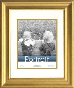 timeless frames lauren portrait wall photo frame 11 by 14 inch gold timeless