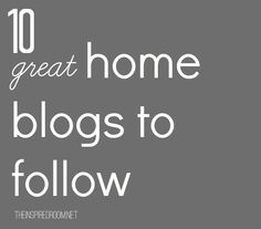 10 home blogs to follow in 2014