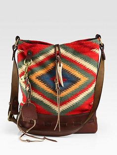 Ralph Lauren Collection Serape Shoulder Bag