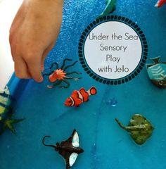Under the Sea Jello Sensory Adventure