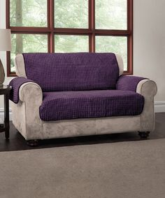 This Purple Puff Furniture Cover is perfect! #zulilyfinds