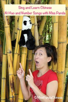 Introduce Chinese to children through songs: Singing, dancing, and finger play are lots of fun for children and they are great ways teach a language...