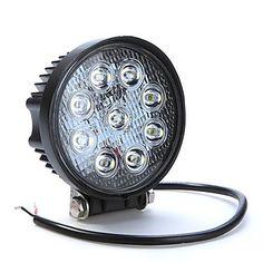 แสง 27W 9LED ไฟตัดหมอก กับ รถเอสยูวี เอทีวี รถบรรทุก รถกระบะ Off Road – USD $ 12.49 #ไฟLED #ไฟโปรเจคเตอร์ #อุปกรณ์รถยนต์ #อุปกรณ์แต่งรถ #ของแต่ง