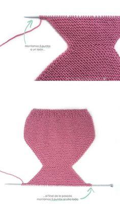 Free Column of Leaves pattern Diy Crafts Knitting, Diy Crafts Crochet, Knitting For Kids, Baby Knitting Patterns, Baby Patterns, Crochet Yarn, Free Knitting, Crochet Patterns, Knitted Baby Clothes