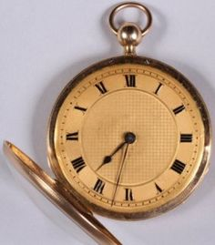 *18k Yellow Gold Pocket Watch Gold Pocket Watch, Pocket Watch Antique, Antique Jewelry, Vintage Jewelry, Pendant Watch, Engagement Rings, Watches, Gemstones, Yellow