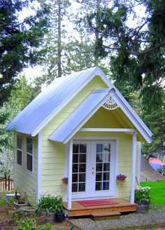 DIY Studio Garden Cottage To Build, Link To Plans To Build Yourself A  Fabulous Place