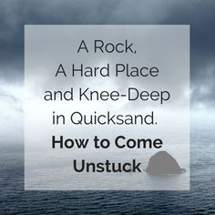 Great tips for getting unstuck from Jason @ Daily Zen.