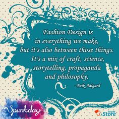 #FashionDesigners be crafty, tell your story and make your products #niche.#SpunkDay #ecommerce #eTail