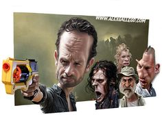 The walking Dead - Caricatures