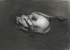 An image from His new figure drawing book. This is a 2min. sketch and also one of my favorites of his drawings.