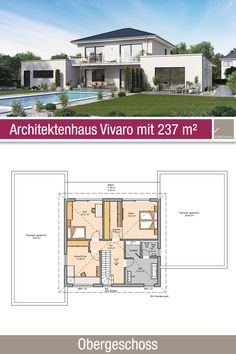 Architecture Plan, House Plans, House Ideas, Floor Plans, 1, Modern, Log Projects, Houses, Building Your Own Home