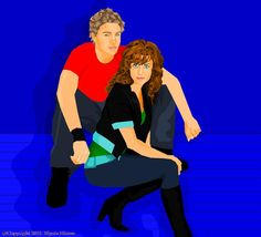 Johnny & Jessa  by Megan Noelle McMillan