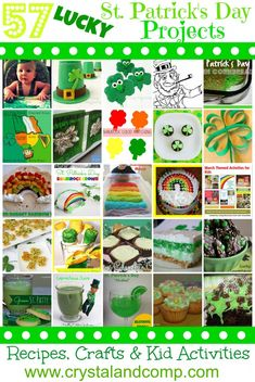 57 Lucky St. Patrick's Day Projects from Crystal & Co. Readers