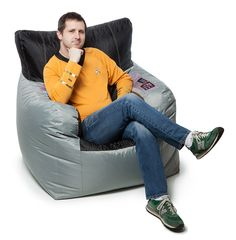 Star Trek Kirk's Command Chair Bean Bag Cover Additional Image