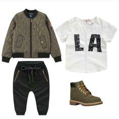 Little boy street style