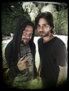 30 seconds to Mars + @BAM__MARGERA