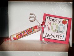 100 days of School Smarties Gift